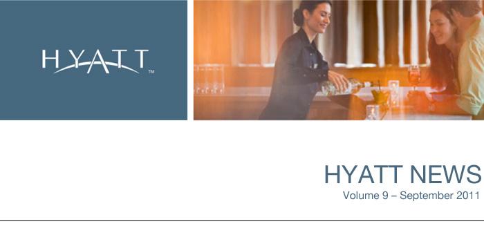 HYATT NEWS Volume 9 - September 2011