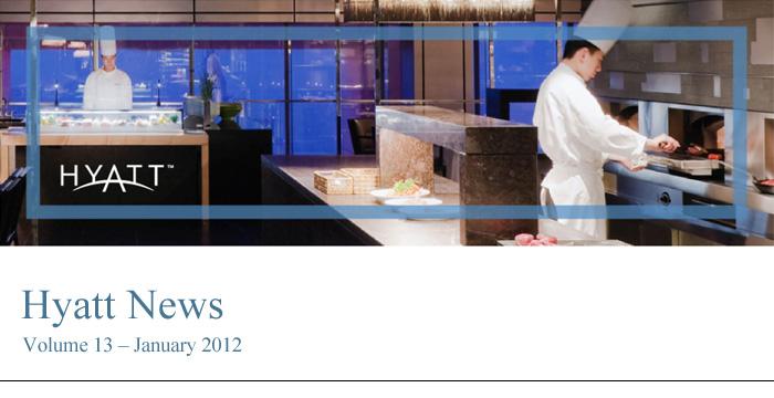 HYATT NEWS Volume 13 - January 2012