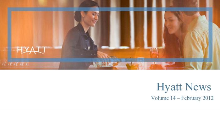 HYATT NEWS Volume 14 - february 2012