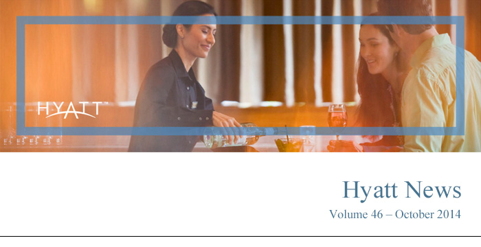 HYATT NEWS Volume 46 - October 2014